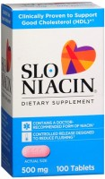 Slo-Niacin 500 mg Tablets 100 Tablets [302450063117]