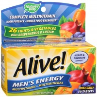 Alive! Tablets Men's Energy 50 Tablets [033674601945]