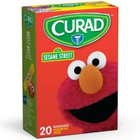 Curad Sesame Street Bandages Assorted Sizes 20 Each [080196319438]