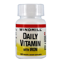 Windmill Daily Vitamin Tablets With Iron 100 Tablets [035046000707]