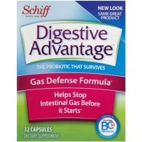 Digestive Advantage Gas Defense Formula Probiotic Capsules, 32 ct [815066001362]