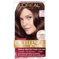 L'Oreal Excellence Creme - 5AR Velvet Brown (Medium Maple Brown) 1 Each