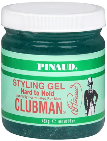 Pinaud Clubman Styling Gel Hard To Hold 16 oz [070066279252]