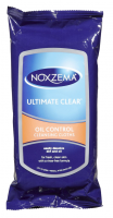 Noxzema Ultimate Clear Oil Control Cleansing Cloths 25 Each [087300560069]