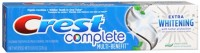 Crest Extra Whitening Toothpaste Clean Mint 8 oz [037000307563]