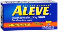 Aleve Smooth Gels Tablets 80 Caps [325866054807]
