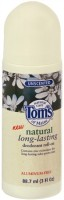 Tom's of Maine Natural Long-Lasting Deodorant Roll-On Unscented 3 oz [077326624036]