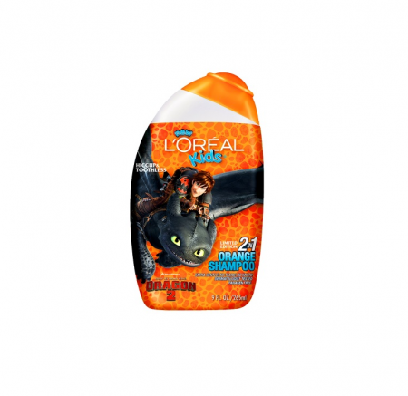 L'Oreal Kids 2-in-1 Shampoo, Mango Orange 9 oz [071249203019]