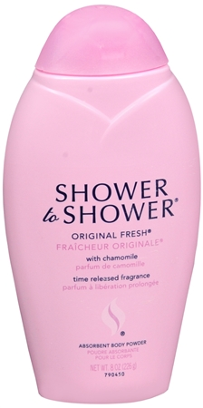 SHOWER TO SHOWER Body Powder Original Fresh 8 oz [381370007081]