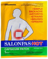Salonpas-Hot Capsicum Patch 1 Each [346581700015]