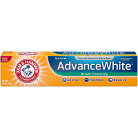 ARM & HAMMER Advance White Baking Soda Toothpaste, Winter Mint 6 oz [033200186236]