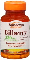 Sundown Bilberry 40 mg Capsules 60 Capsules [030768004811]