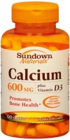 Sundown Calcium 600 mg + D Caplets 120 Tablets [030768035686]