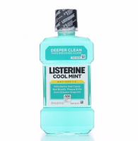 Listerine Antiseptic Mouthwash, Cool Mint 250 mL [312547427203]