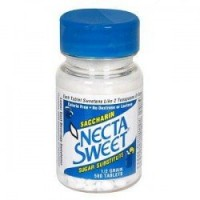 Necta Sweet Saccharin Sugar Substitute 0.5 Grain Tablets 500 ea [758312172068]