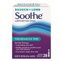 Bausch & Lomb Soothe Lubricant Eye Drops Single-Use Dispensers 28 Each [310119022191]