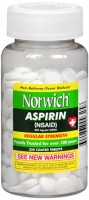 Norwich Aspirin Tablets Regular Strength 250 Tablets [311868093258]