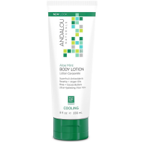 Andalou Naturals Cooling Body Lotion, Aloe Mint 8 oz [859975020182]