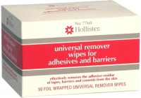 Hollister Universal Remover Wipes For Adhesives and Barriers No. 7760 50 Each [610075077601]