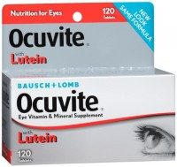 Bausch & Lomb Ocuvite Tablets 120 Tablets [324208387627]