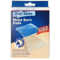 2nd Skin Moist Burn Pads 3 Inches X 4 Inches 3 Each [038472505242]