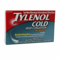 TYLENOL Cold Head Congestion Caplets For Adults, Severe, 24 ea [300450261250]