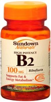 Sundown B-2 100 mg Tablets 100 Tablets [030768039868]