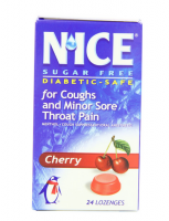 N'ice Lozenges Sugar Free Cherry, 24 ea [641528000662]