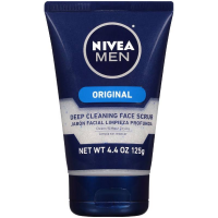 NIVEA FOR MEN Original, Deep Cleaning Face Scrub 4.4 oz [072140813598]