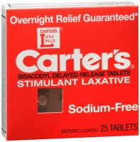 Carter's Laxative Tablets 25 Tablets [022600030232]