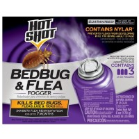 Hot Shot Bedbug & Flea Fogger 3 ea [071121959119]