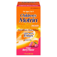 Motrin Children's Pain Reliever & Fever Reducer, Original Berry 1 oz [300450192011]