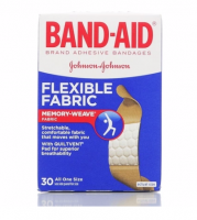 BAND-AID Bandages Flexible Fabric All One Size 30 Each [381370044314]