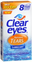 Clear Eyes Natural Tears Lubricant 0.50 oz [678112736454]