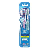 Oral-B Advantage 3D White Vivid Toothbrushes Soft, 2 Each [300416684666]