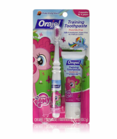 Orajel Toddler Training Toothpaste, Pink Fruity Flavor 1 oz [310310323738]