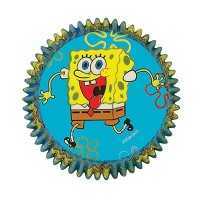 Wilton SpongeBob Squarepants Baking Cups 50 ea [070896893536]