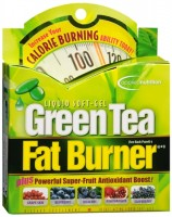 Green Tea Fat Burner Liquid Soft-Gels 30 Soft Gels [710363263010]