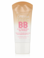 Maybelline Dream Fresh BB 8-in-1 Beauty Balm Skin Perfector SPF 30, Light/Medium, 1 oz [041554282634]