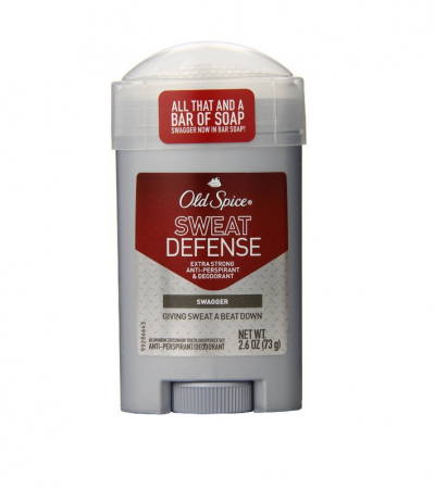 Old Spice Red Zone Sweat Defense Antiperspirant & Deodorant Solid, Swagger 2.6 oz [012044011140]